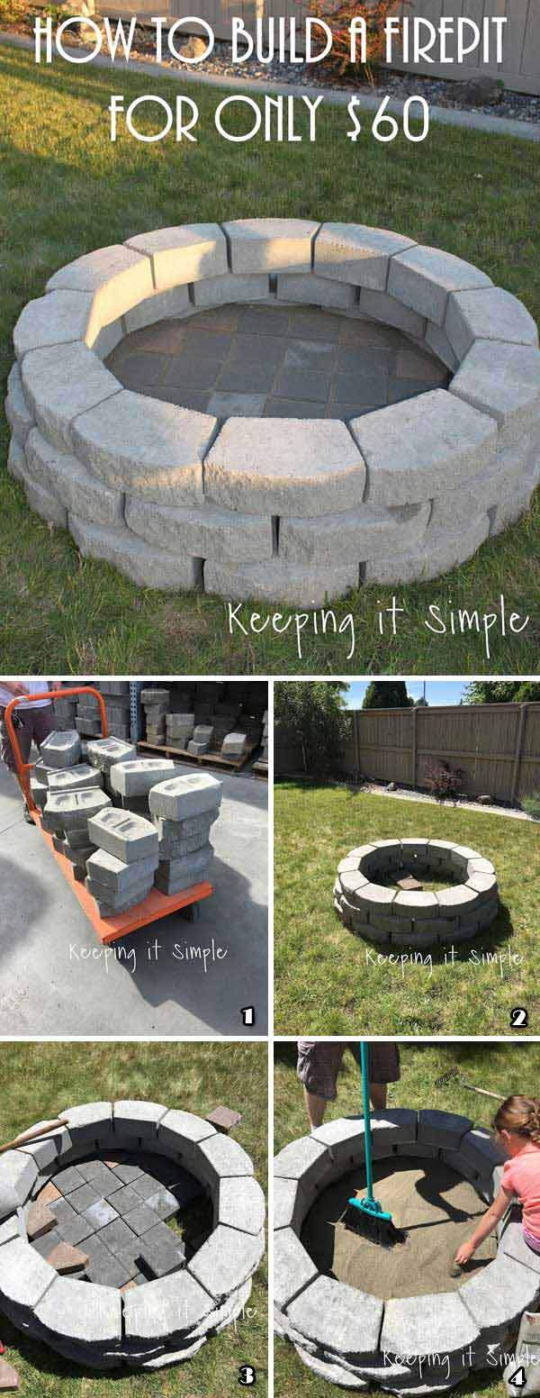 build your own firepit on bud 8