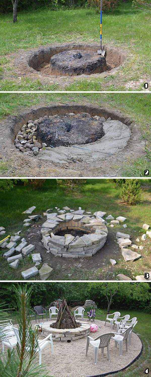 build your own firepit on bud 9