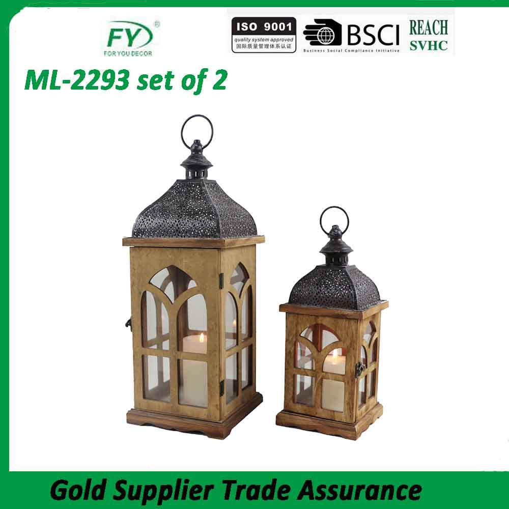 made in china white metal lifestyle lantern with plastic led bulb inside for outdoor decoration