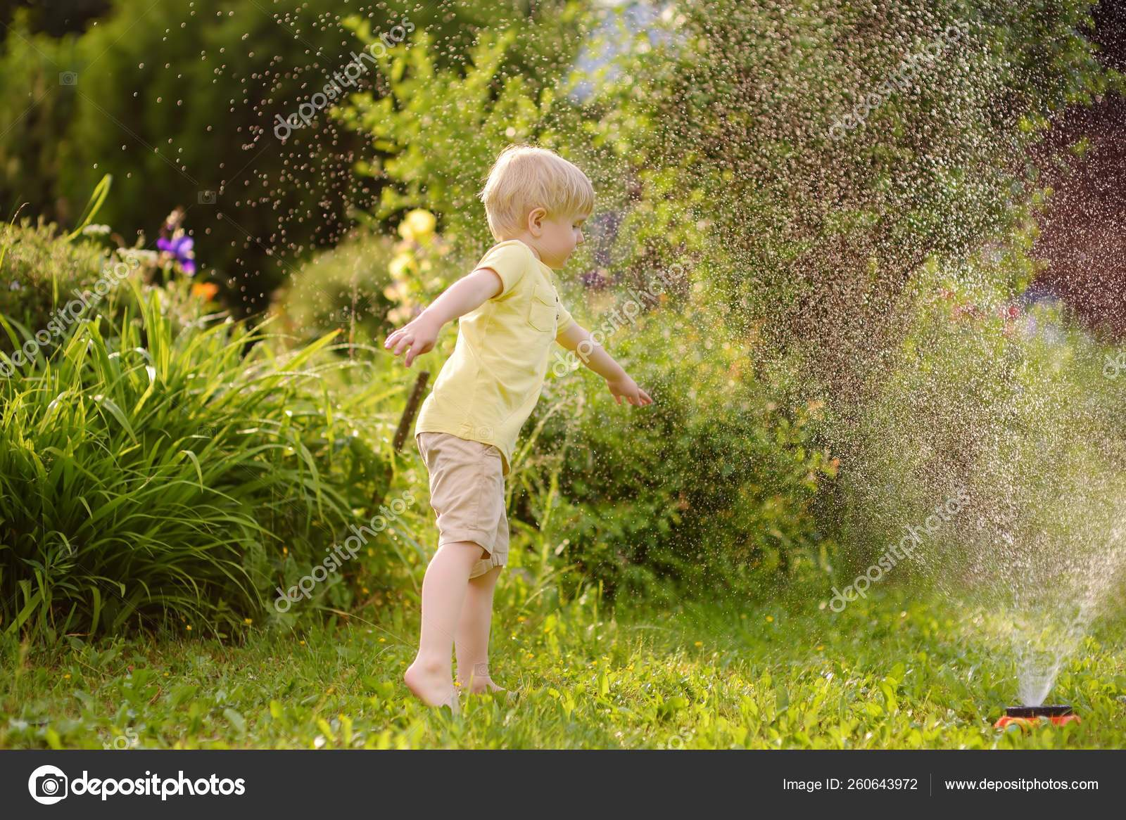 depositphotos stock photo funny little boy playing with