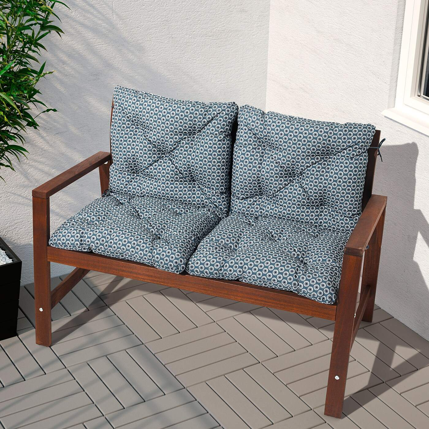 aepplaroe bench with backrest outdoor brown stained PE S5 JPG