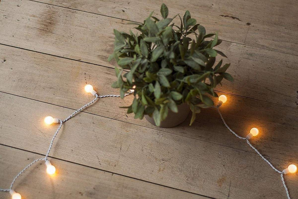 plaights 100 led party lichterkette weiss