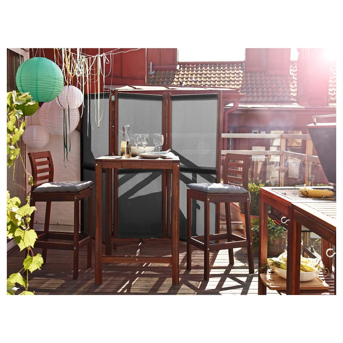 slaettoe privacy screen outdoor black brown stained PH S5 JPG