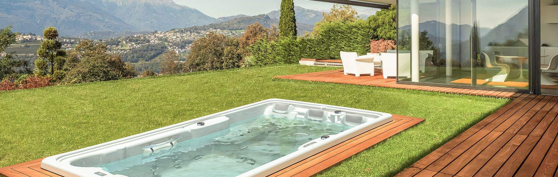 sopra outdoor swimspa