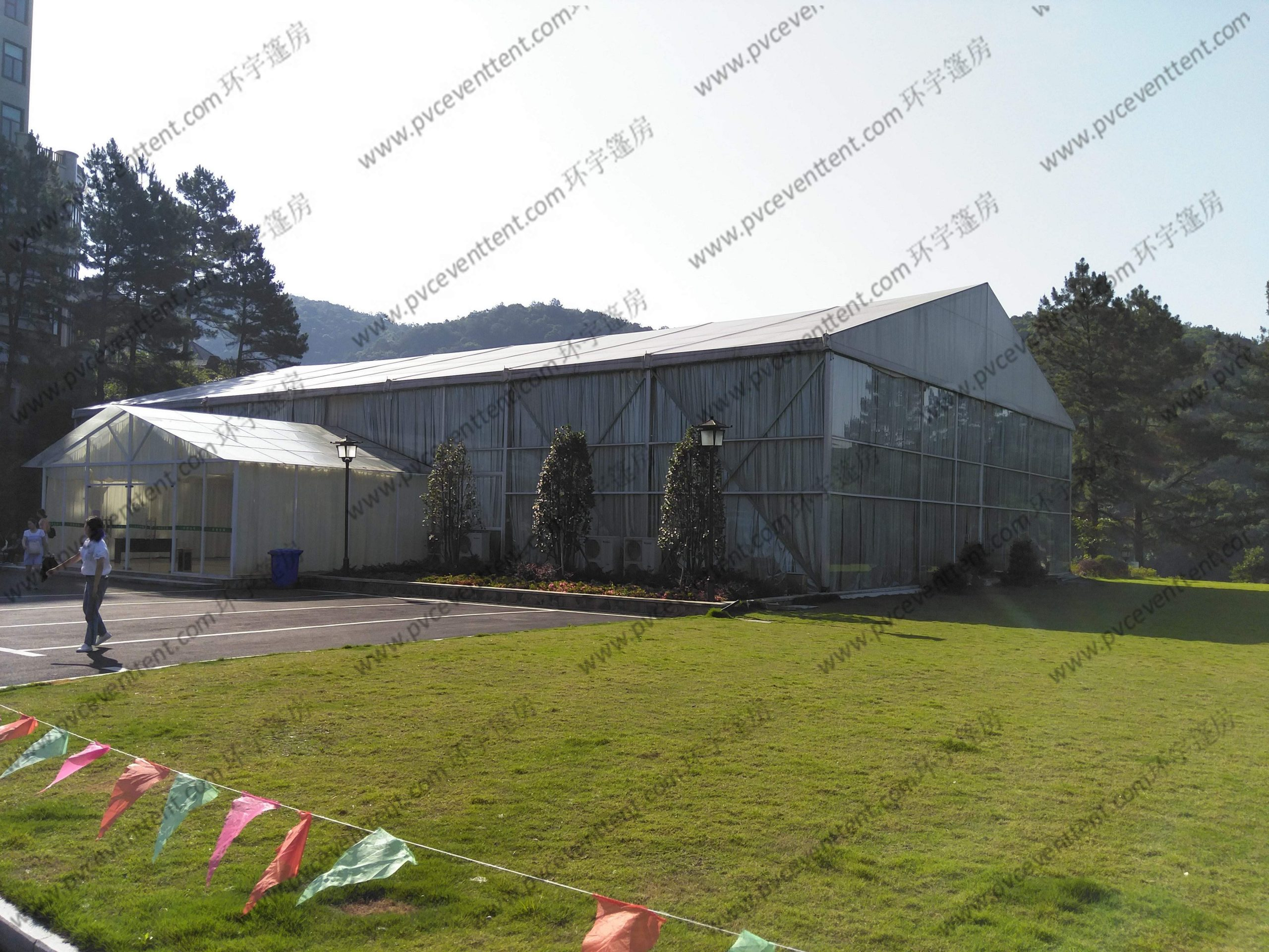 sale solid aluminum structures wedding party tent in garden 25 x 75m more than 500 people